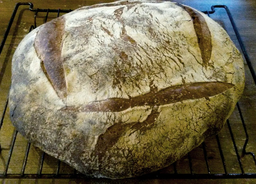Sourdough bread artisan baking