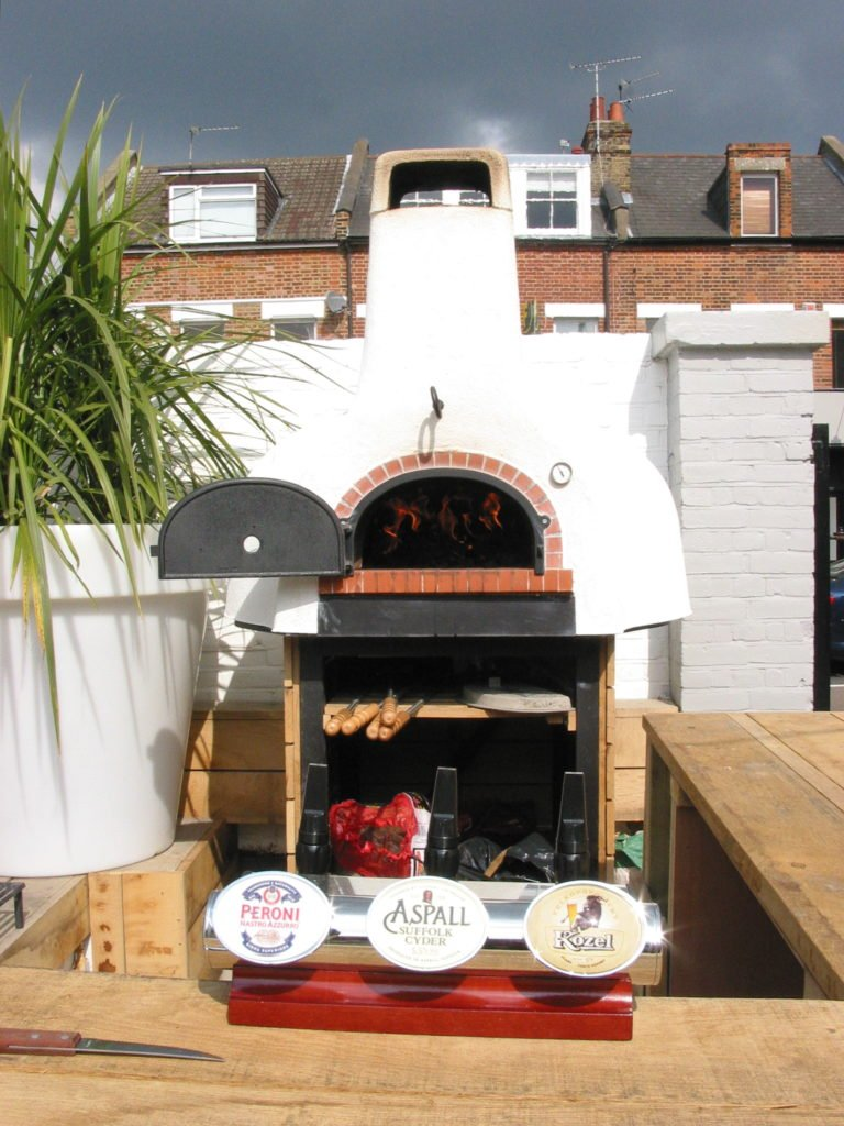Oven and bar