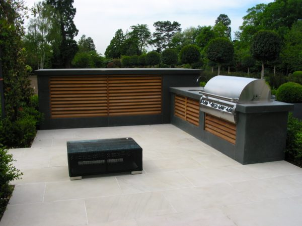 Outdoor kitchen Potters Bar- a luxury new build 1