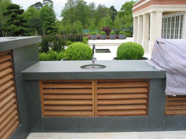 Outdoor kitchen Potters Bar- a luxury new build 2