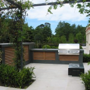 outdoor kitchen Potters Bar, outdoor cooking, wood-fired oven, Firemagic bbq,