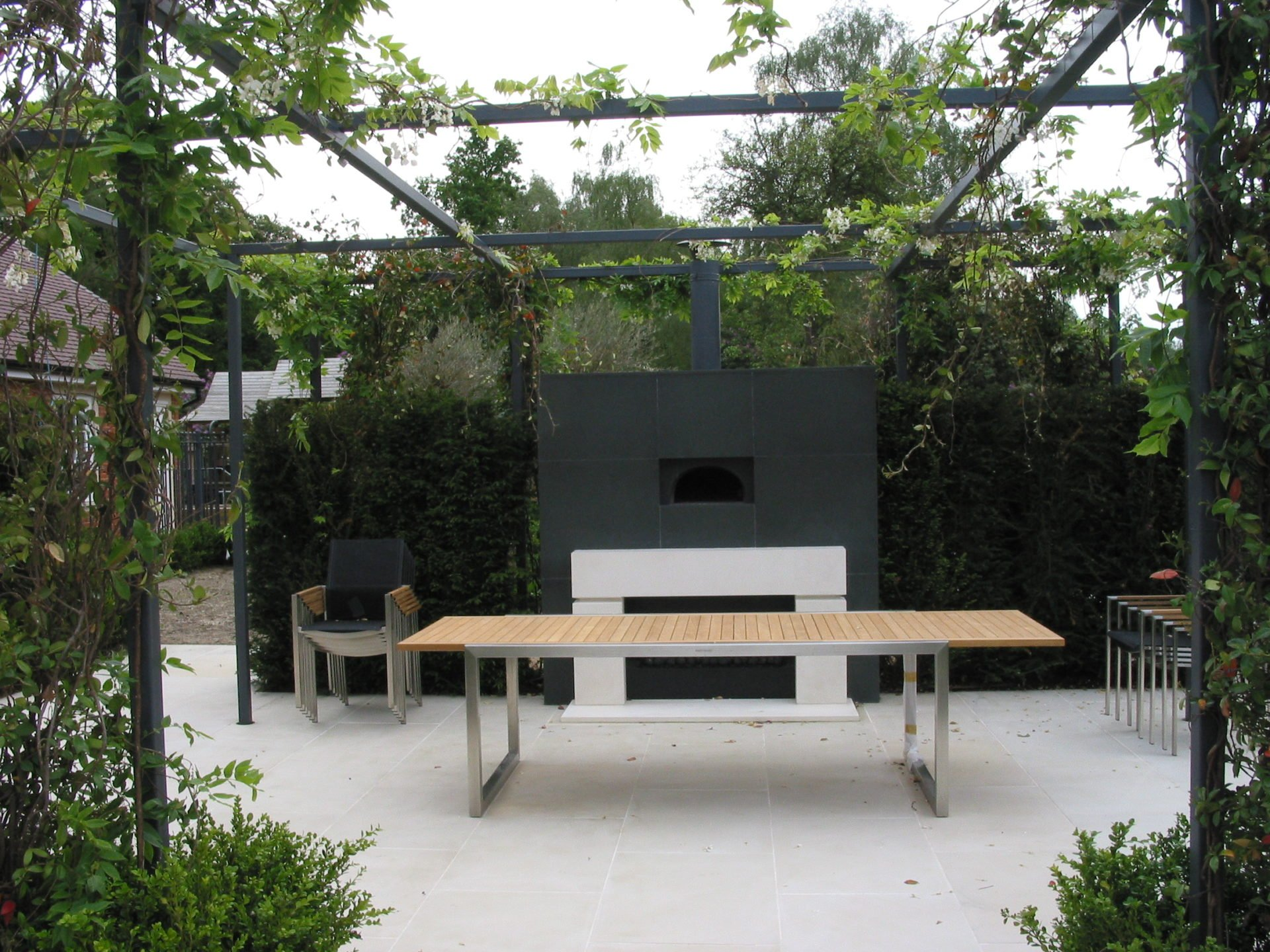 outdoor kitchen, potters bar, EN6, Firemagic BBQ, four grand-mere, wood-fired oven, outdoor pizza oven, gas pizza oven,projects,