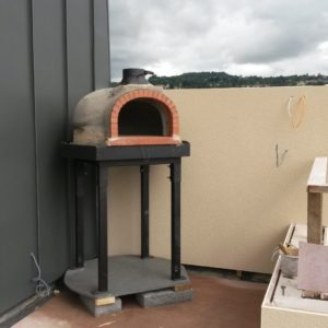 roof terrace, pizza oven, Bath, wood-fired oven,four grand-mere, F700C+,