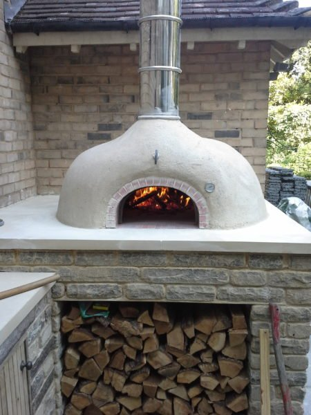 F950 brick oven, four grand-mere, wood-fired oven, pizza oven, beckenham