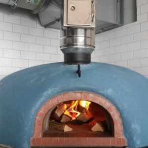 Four GrandMere T1350 brick oven, ODE, NOAH, coast view, Shaldon, Devon, pizza oven, wood-fired oven,