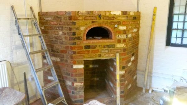 private estate, ewelme, four grand-mere, F950, brick oven, wood-fired oven