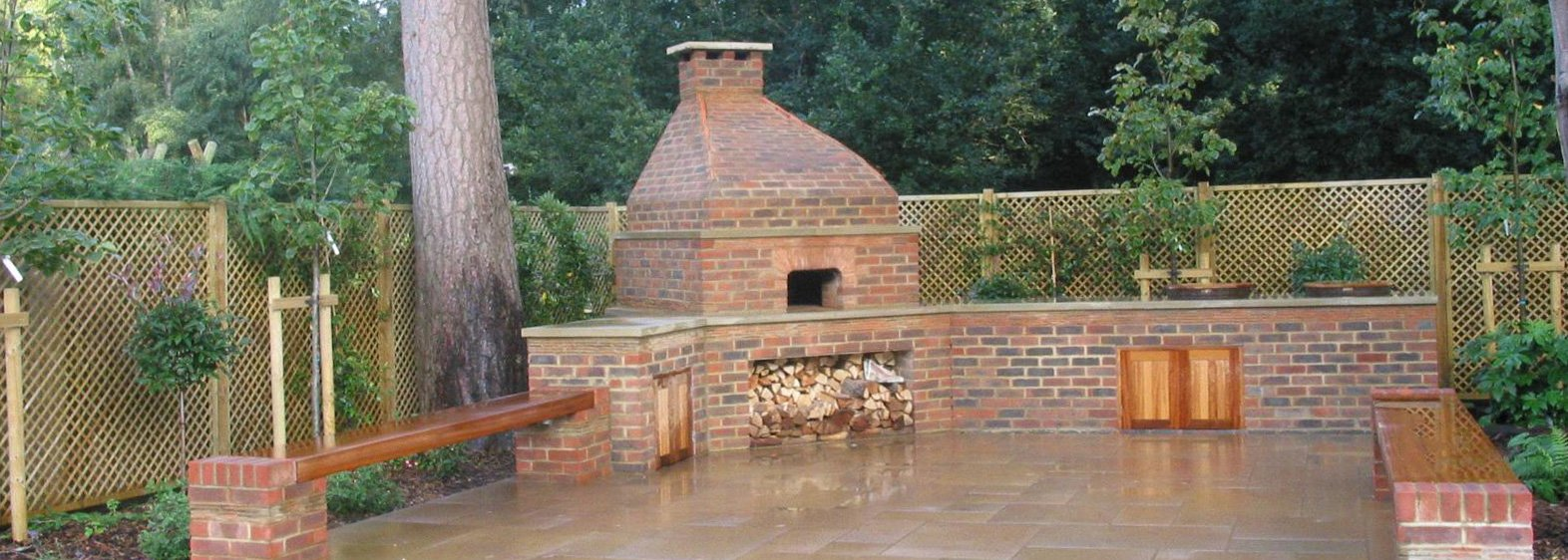 Bespoke brick Oven, outdoor kitchen Buckinghamshire