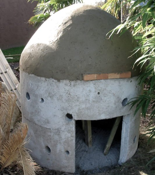 Rare Species Conservation Centre - Cob Oven 15