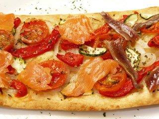Coca de cebolla, Catalan, flat bread,