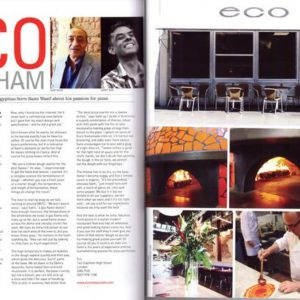 The London Epicurean, Eco clapham, wood-fired oven, pizza restaurants
