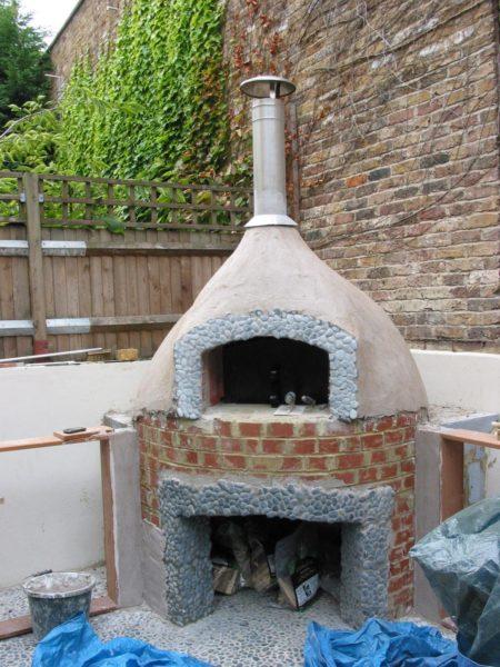Smart Valoriani pizza oven, Belsize Park 8