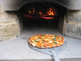 pizza dough recipe, pizza baking, pizza oven, wood-fired oven,