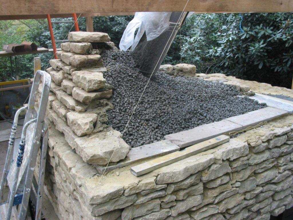 st georges hill, outdoor kitchen, stone work,