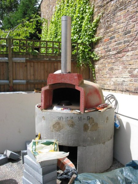 Smart Valoriani pizza oven, Belsize Park 6