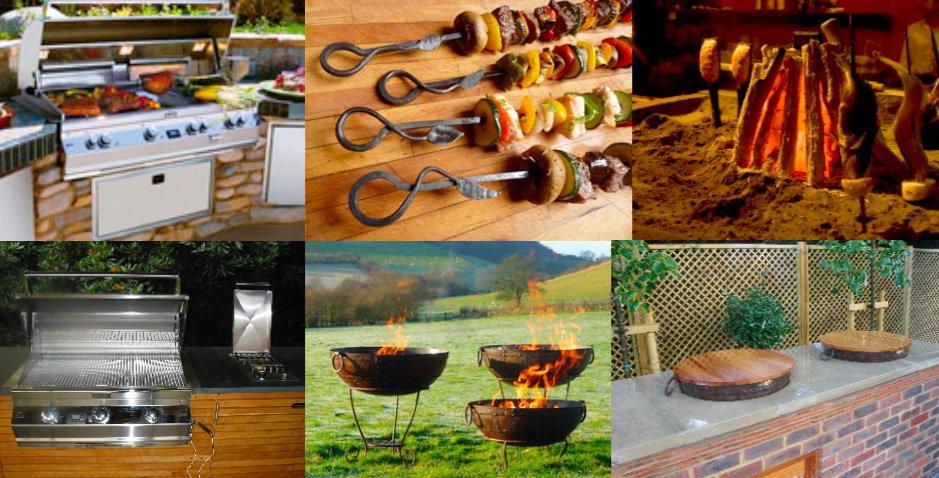 wood fired oven garden