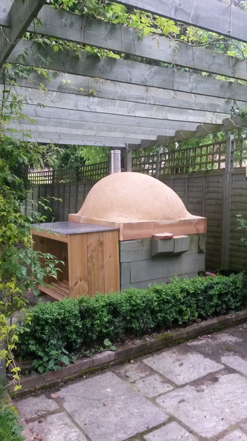 clay cob oven