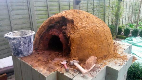 clay cob pizza oven, clay cob,