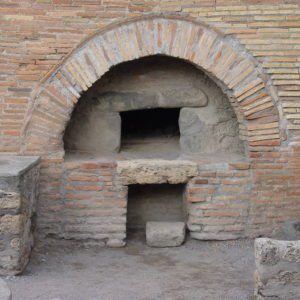 Baker's wood-fired oven Pompeii