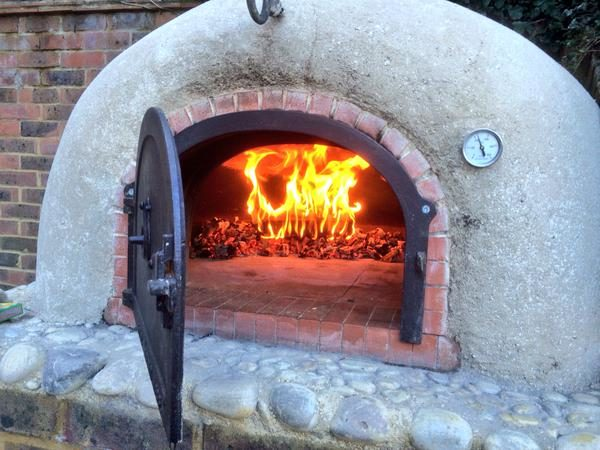 Raised-wood fired oven-saturday kitchen