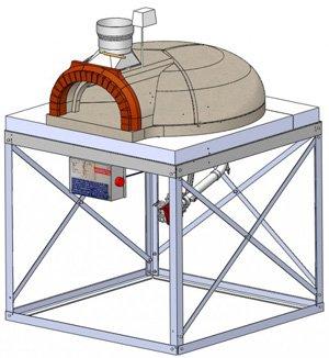 F1030BG, gas pizza ovens,