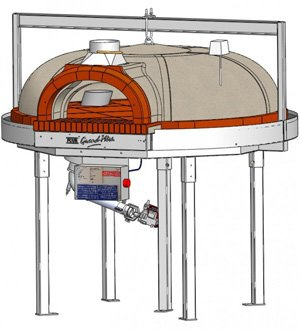 F1200BG, gas pizza ovens,