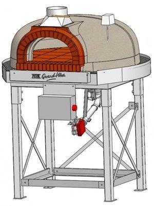 F950BG, gas pizza ovens,