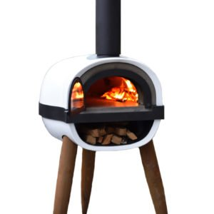 ALFRED, wood-fired oven, pizza oven, contemporary design