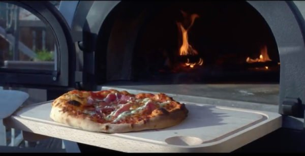 ALFRED, wood-fired oven, pizza oven, outdoor cooking