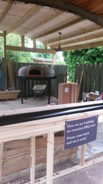 Heligan pizza oven - An addition to the Lost Gardens 1