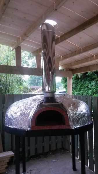 Heligan pizza oven - An addition to the Lost Gardens 2