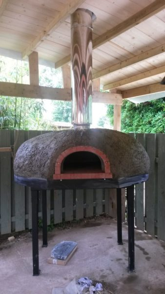 Heligan pizza oven - An addition to the Lost Gardens 3