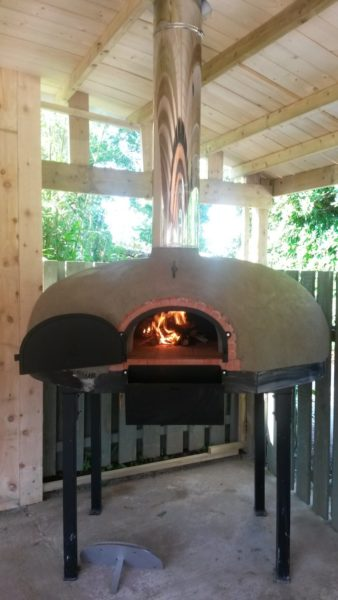 Heligan pizza oven - An addition to the Lost Gardens 4