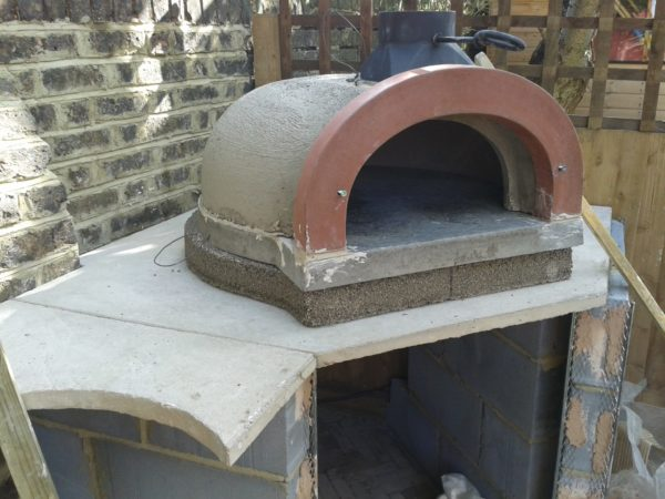 garden cooking station, Nunhead,London, Four Grand-Mere, F700A+, Le Flamme