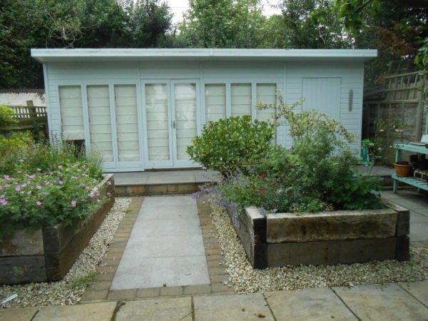 rustic kitchen, Wimbledon, BBQ, outdoor fridge