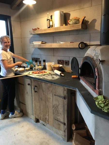 Pizza oven with two entry arches! Yes 2! 1