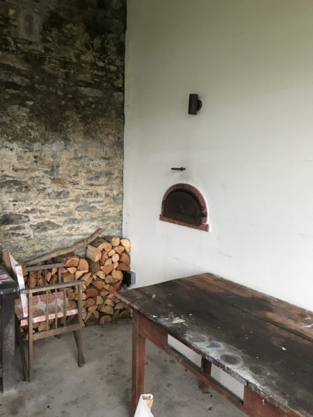 Pizza oven with two entry arches! Yes 2! 3