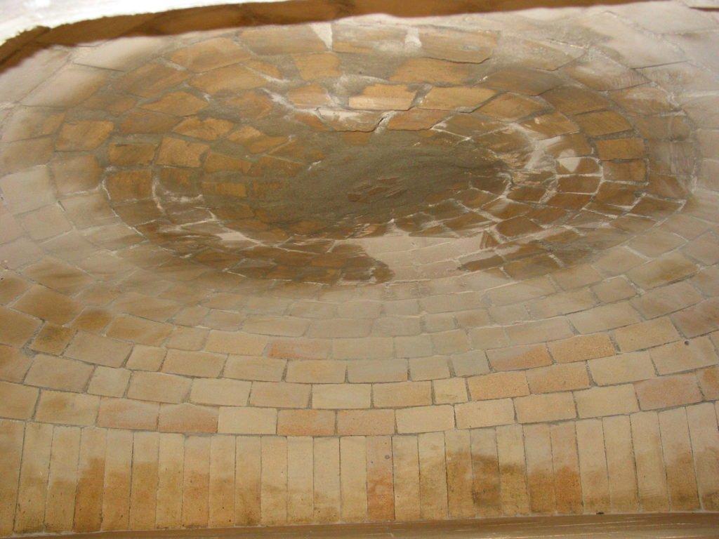 bespoke brick oven, hand made, firebrick dome