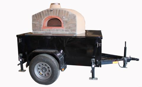 mobile catering, pizza on the go, wood-fired oven, pizza trailer,