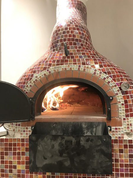 mosaic pizza oven, wood-fired oven, wood burning oven, Four grand-mere, F700, brick oven