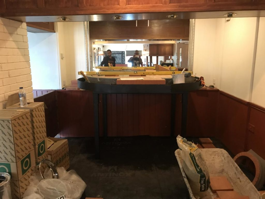 rising sun coltishall, T1500, brick oven, pizza oven, wood burning oven,
