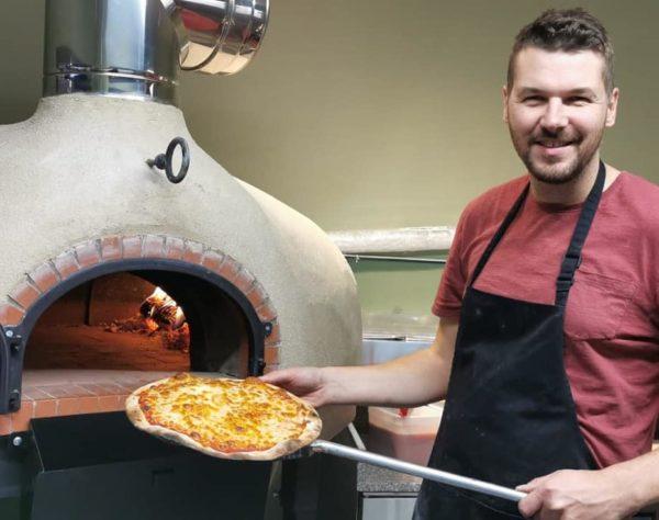 chanbury's, pizzeria, kingsteignton, sourdough, pizza, four grand mere, T1350, brick oven,