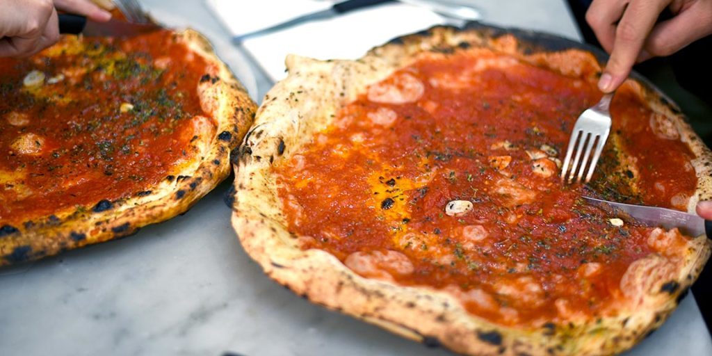 Authentic pizza, neapolitan pizza, wood fired pizza,