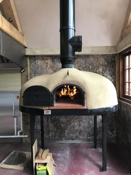 west lexham manor, wood-fired oven, four grand-mere, FT1500 brick oven, Norfolk, brick oven, holistic retreat,